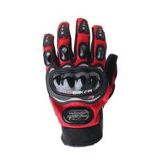 Beli Sarung Tangan Motor Pelindung Sarung Tangan Merah Cicilan