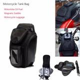 Promo Motor Tank Bag Motorbike Bahan Bakar Minyak Bag Magnet Motorbiker Oxford Tahan Air Gps Saddle Bags Luggage Pemandangan Besar Area Intl Tiongkok