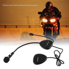 Motor V1-2A Bluetooth Headset Helm Mobile Headphone Handsfree Panggilan Earphone-Intl