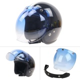 Harga Motorcycle Windshield Helmet Harley Style Jet Bubble Visor Uv 400 Protection Intl Terbaru