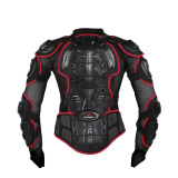 Harga Motorcycle Body Perlindungan Racing Full Body Armor Spine Dada Pelindung Jaket Gear M Xxxl N