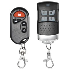 Motor Aksesoris Dua Cara Sepeda Motor Alarm Sistem (Hitam)-Internasional