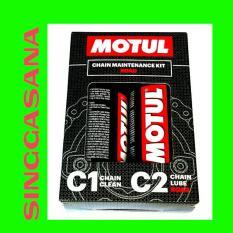 Harga Motul Chain Cleaner C1 Chain Lube C2 Maintenance Kit Road 150 Ml Di Indonesia