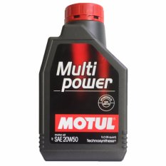 Motul Oli Mesin Motor Multipower 20W/50 1L - Aksesoris Motor - Variasi Motor
