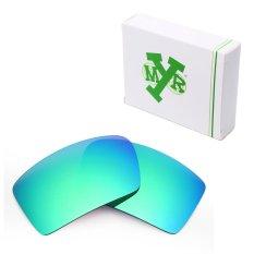 MRY Polarized Penggantian Lensa untuk Penutup Mata 2 Bingkai Kacamata Hitam Emerald Green-Intl