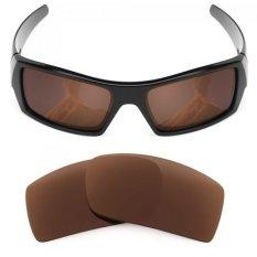 MRY Polarized Lensa Pengganti untuk Kacamata Gascan Perunggu Coklat-Internasional