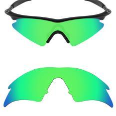 MRY Polarized Lensa Pengganti untuk M Bingkai Kacamata Sweep Bingkai Emerald Green-Intl