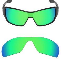 MRY Polarized Penggantian Lensa untuk Cabang Bingkai Kacamata Hitam Emerald Green-Intl