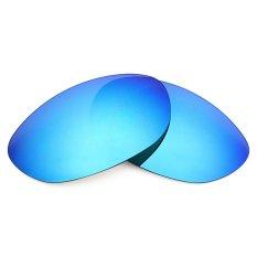 MRY POLARIZED Penggantian Lensa untuk Wiley X Airrage Sunglasses Bingkai Ice Blue-Internasional