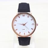 Harga Nn Marc Gaya Peledak Jam Tangan High End Fashion Leather Watch Dial Watch Intl Yang Murah