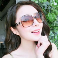Kacamata Hitam Wanita Retro Modern Elegan Gaya Korea