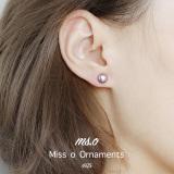 Jual Mso S925 Jepang Dan Korea Selatan Umpan Balik Perak Elegan Anting Mutiara Anting Branded