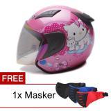Harga Hemat Msr Helmet Javelin Charmmy Pink Promo Gratis Masker