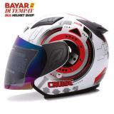 Jual Msr Helmet Javelin Cruise Putih Merah Import