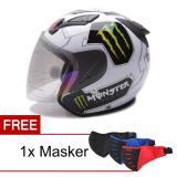 Ulasan Msr Helmet Javelin Monster Putih Promo Gratis Masker