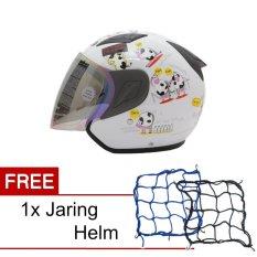 Spesifikasi Msr Helmet Javelin Original Putih Promo Gratis Jaring Helm Yg Baik
