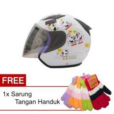 Harga Msr Helmet Javelin Original Putih Promo Gratis Sarung Tangan Handuk Di Banten