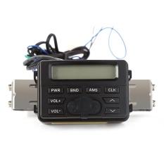 Mt723 Motor Suara Audio Radio Handlebar 12 V Full-band FM Stereo ATV Sepeda MP3 Perangkat-Intl