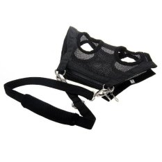 Multi-function Pet Dog Puppy Clothes Vest Harness Carrier Bag LeashBlack XL - intl