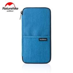 Multi-fungsional Paspor Bag Waterproof Dompet Kartu Tiket Perjalanan Folder Protective Cover Biru-Intl