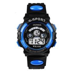 Multifungsi Water Boy Olahraga Elektronik Anak-anak Watches (biru)-Intl