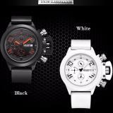 Harga Gerakan Multifungsi Pria Watch Silicone Tape Pria Jual Tahan Air Kalender Watch Intl Yang Bagus