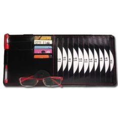 Mobil CD Sarung papan penghalang sinar matahari Multifungsi dipakai di mobil CD Cakram tas penyimpanan bagian dalam mobil CD PAKET CD PAKET CD TAS Mobil Barang