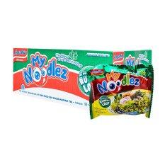 Harga My Noodlez Mi Goreng Rasa Rumput Laut Karton Isi 20