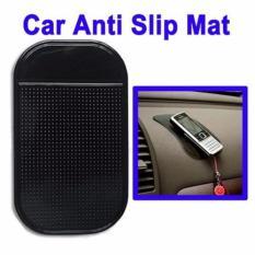 Naga Silikon Tatakan Anti Slip Dashboard Car Anti Slip Mat Untuk Hp Samsung Xiomi Oppo Iphone Asus - Hitam