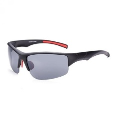 Naivo unisex Black & Red Circular Sports Sunglasses