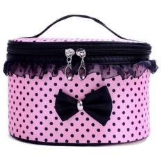 Naponie Portable Travel Toiletry Makeup Kantong Kosmetik Tempat Penyimpanan Handbag PK-Intl