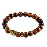 Review Batu Alam Bead Gelang Silver Gold Buddha Turquoise Bracelet Pulseras Mujer Joylivecy