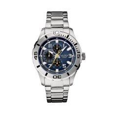 Toko Nautica Watches Nst 08 A15098G Silver Tone Nautica Di Indonesia