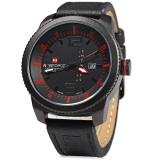 Spesifikasi Naviforce 9063 M Pria Jam Kuarsa Hitam Case Watch Ketahanan Jam Tangan Intl Lengkap