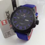 Spesifikasi Naviforce Jam Tangan Pria Leather Strap Nf 9066 Bb Merk Naviforce