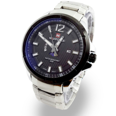 ... Leather Hitam Source · Naviforce Jam Tangan Pria Stainlessteel Strap NF 2829 BlackIDR273231 Rp 273 231