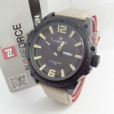 Jual Naviforce Jam Tangan Pria Strap Canvas Nf9066 Branded Original
