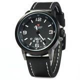 Beli Naviforce Nf9028 Pria Jam Quartz Jam Tangan Analog Jam Tangan Tali Pu Tanggal Dengan Kartu Kredit