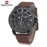 Review Naviforce Nf9083M Male Quartz Watch Japan Movt Decorative Sub Dial Date Display Wristwatch Brown Black Intl Naviforce Di Indonesia