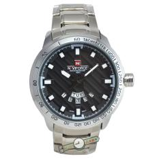 Naviforce Nf9085m Jam Tangan naviforce nf9085m jam tangan pria stainless steel silver