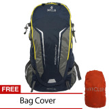 Diskon Navy Club Tas Hiking Backpack Ransel Travel Outdoor Carrier 5035 70 Liter Gratis Rain Cover Biru Tua Navy Club Indonesia