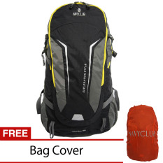 Harga Navy Club Tas Hiking Backpack Ransel Travel Outdoor Carrier 5035 70 Liter Gratis Rain Cover Hitam Termurah