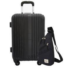 Navy Club Koper Kabin - Koper Hard Case Fiber ABS Kuci TSA 3182-20 inch + Navy Club Tas Selempang T