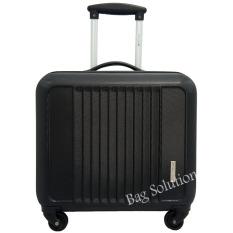 Review Terbaik Navy Club Tas Koper Kabin Koper Hardcase Fiber Abs 4 Roda Putar Kunci Tsa 3186 Size 16 Inch Hitam B