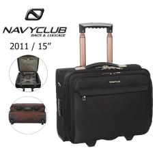 Review Tentang Navy Club Koper Kabin Koper Softcase Nylon 2 Roda 2011 15 Inch Hitam