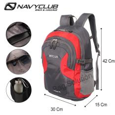 Navy Club New Arrival - Tas Ransel Laptop Kasual HFFB Backpack Up to 14 inch -