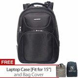 Diskon Navy Club Tas Ransel Laptop 5862 Backpack Up To 15 Inch Bonus Bag Cover Dan Laptop Case Hitam Indonesia
