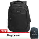 Spek Navy Club Ransel Laptop Expandable 8302 Hitam Navy Club