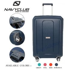 Harga Navy Club New Arrival Tas Koper Frame Hardcase Fiber Pp 4 Roda Putar Kunci Tsa Chgj Size 28 Inch Dark Blue Termahal