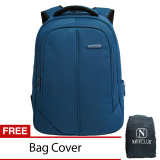 Jual Navy Club Tas Ransel Laptop 8233 Backpack Up To 15 Inch Bonus Bag Cover Biru Navy Club Di Indonesia